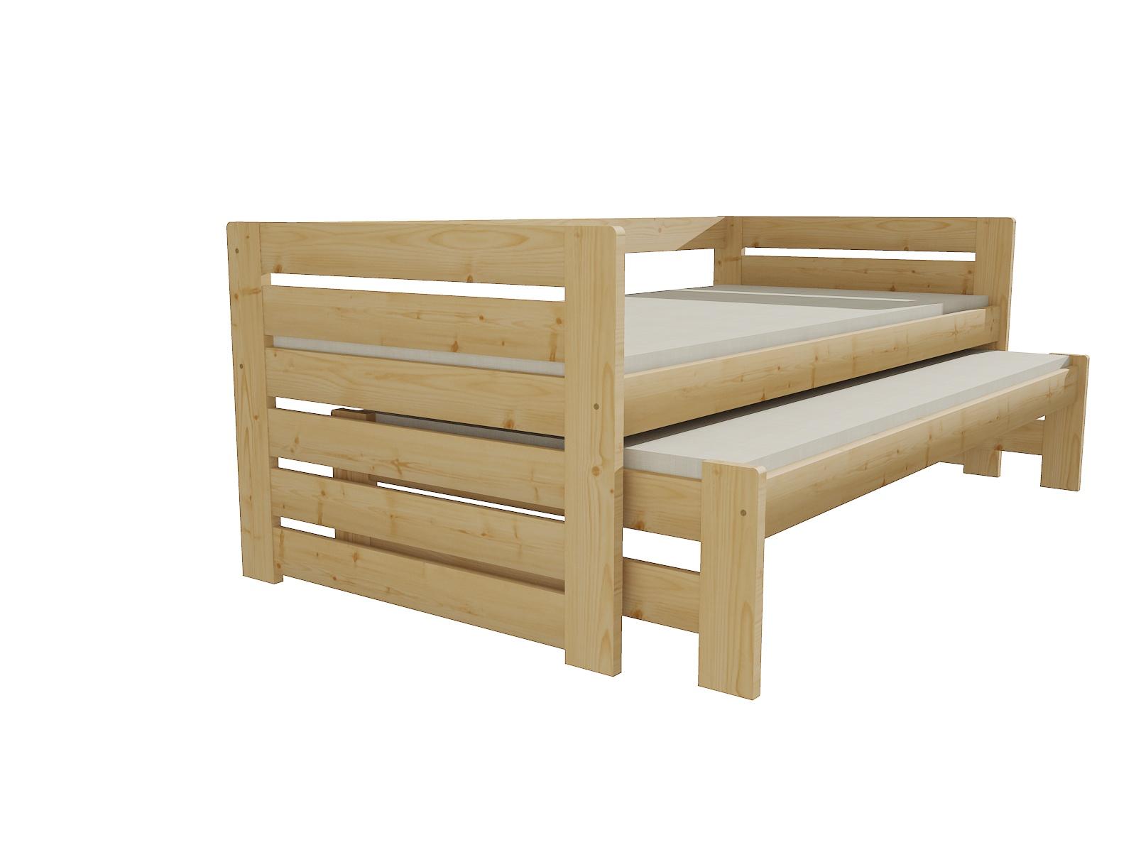 Dětská postel s výsuvnou přistýlkou DPV 011