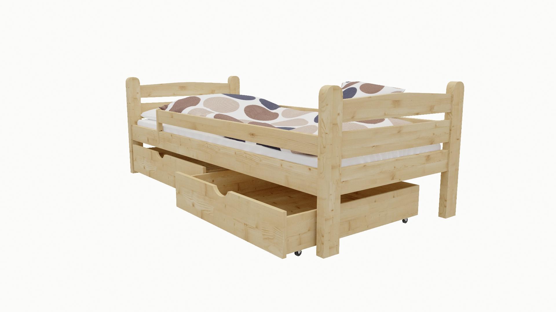 Dětská postel M 001