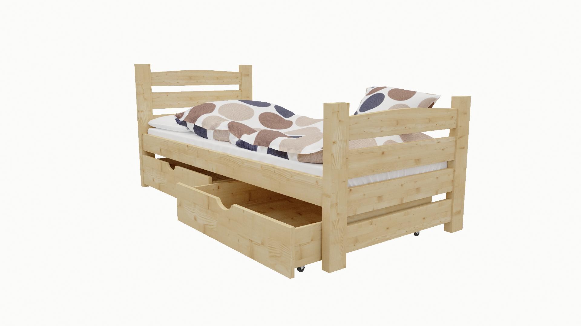 Dětská postel M 004