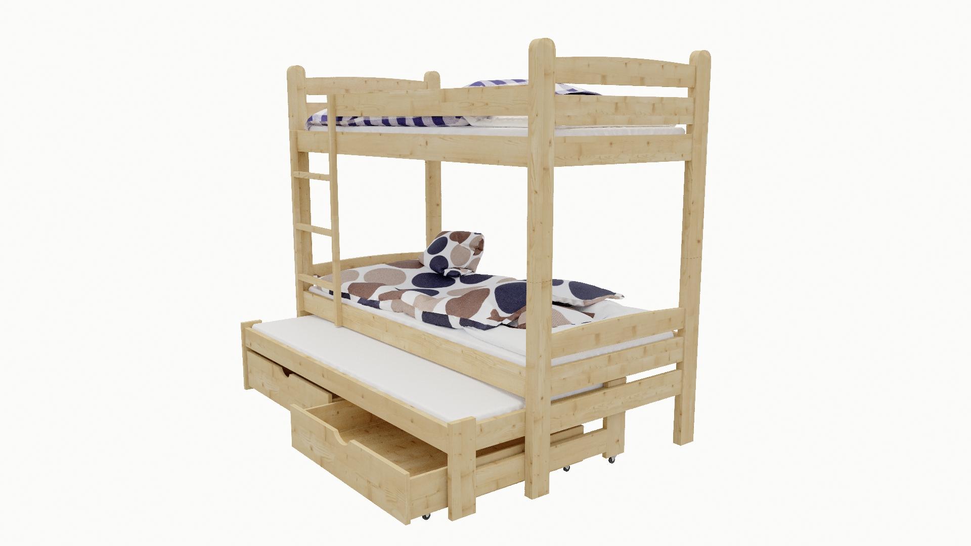 Patrová postel s výsuvnou přistýlkou M 008